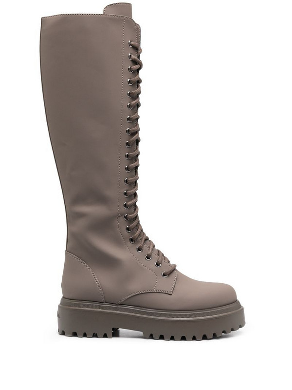 Le Silla Ranger laced boots in grey