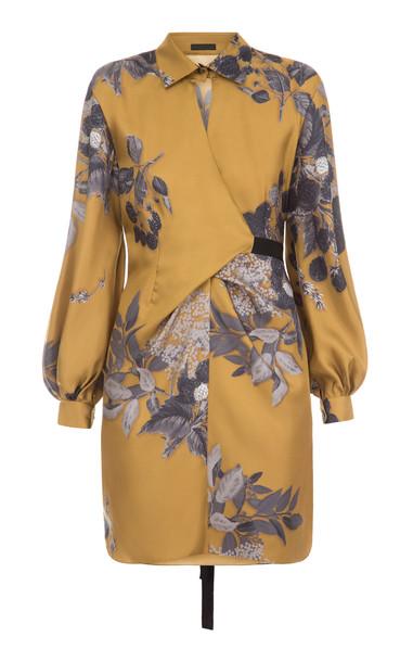 Lake Studio M'O Exclusive Floral Mini Dress