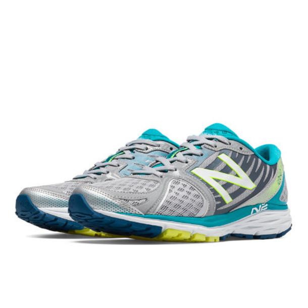 New Balance 1260v5 Women's Stability and Motion Control Shoes - Silver/Blue Atoll (W1260SB5)