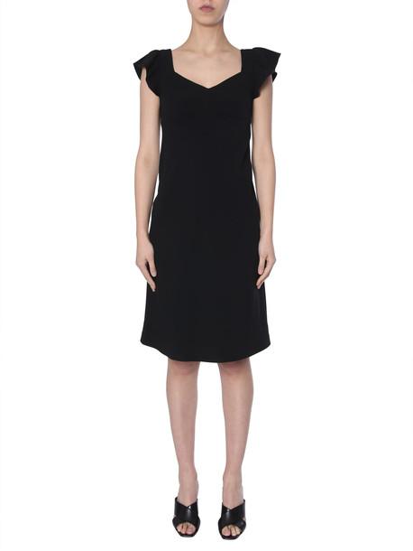 Boutique Moschino Crepe Dress in nero