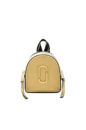 mini,backpack,metallic,gold,bag