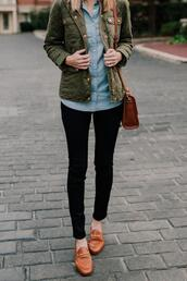 kelly in the city - a preppy chicago life,style and fashion blog,blogger,leggings,jeans