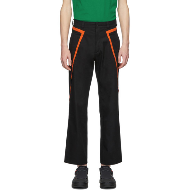 Affix Black Public Service Trousers