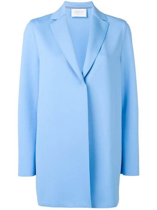 Harris Wharf London classic fitted blazer in blue