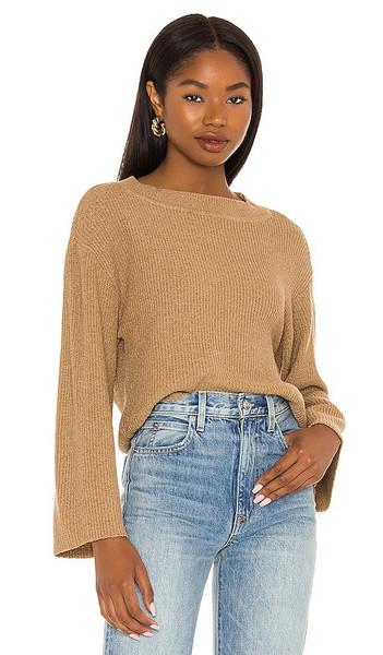 Lovers + Friends Lovers + Friends Hilda Sweater in Tan