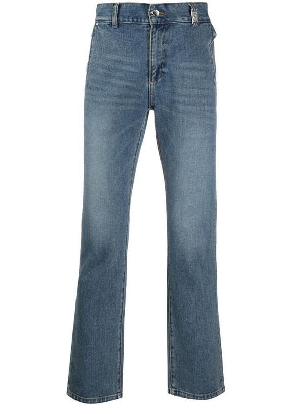 Ader Error slim-fit jeans in blue