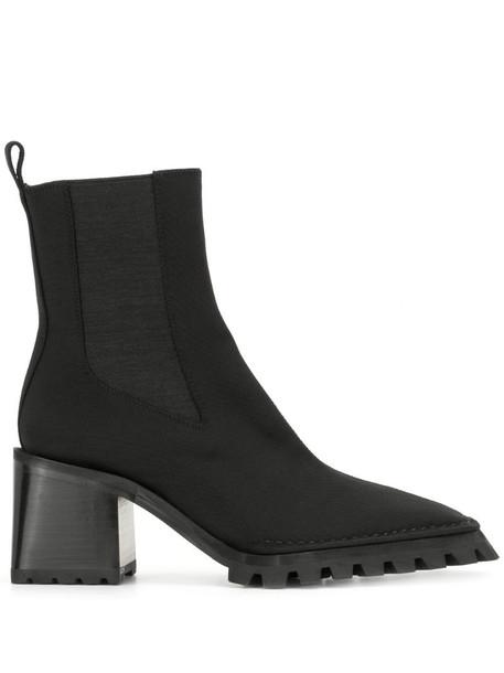 Alexander Wang Parker lug-sole boots in black