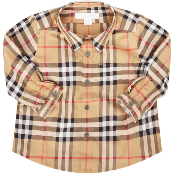 Burberry Vintage Checked Shirt in beige