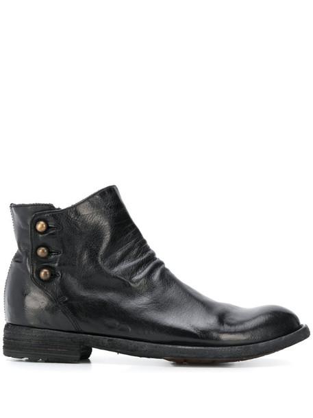 Officine Creative Lexikon 122 boots in black