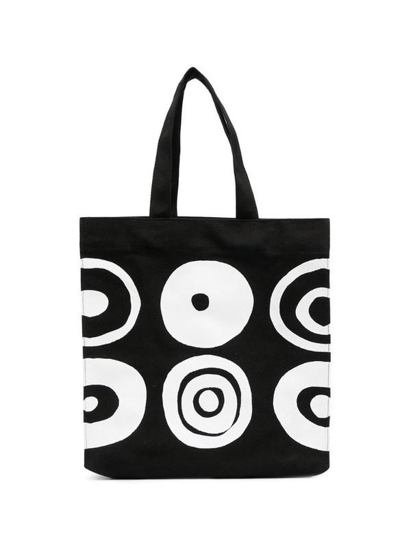 10 CORSO COMO graphic print tote bag in black
