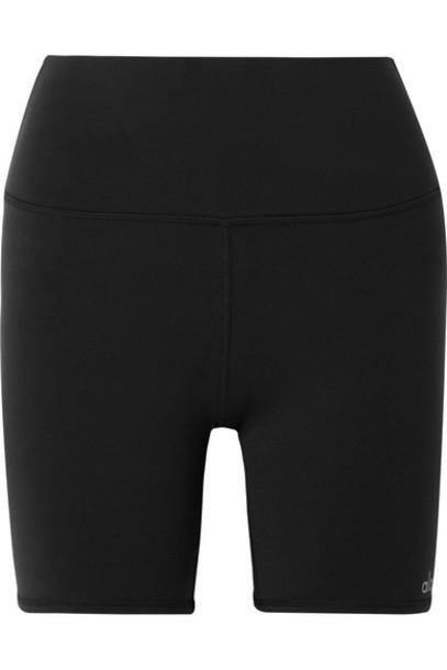 Alo Yoga - Stretch Shorts - Black