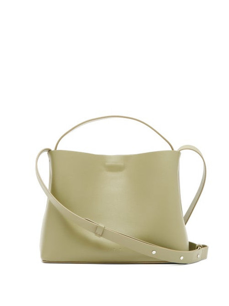 Aesther Ekme - Sac Mini Leather Tote Bag - Womens - Green