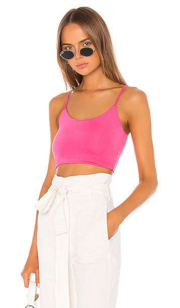 superdown Adriana Bra Top in Pink
