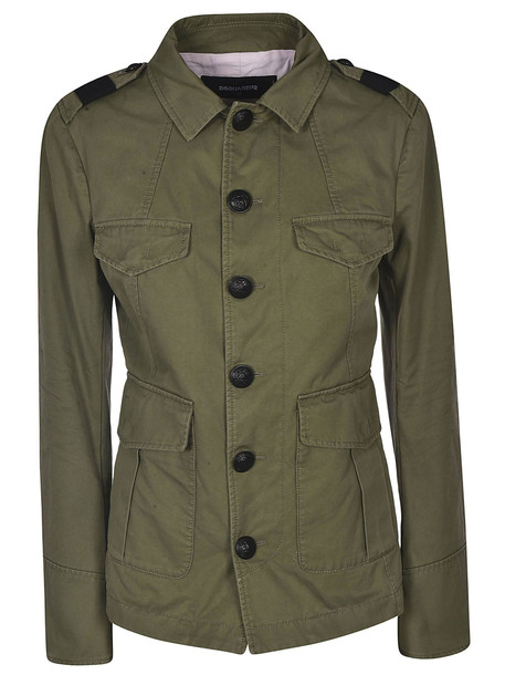 Dsquared2 Safari Jacket in green