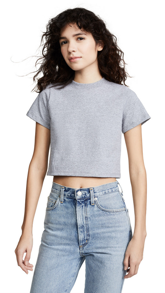 Hanes x Karla The Baby Tee in grey