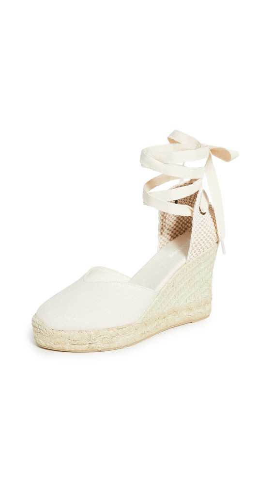 Soludos Mallorca Wedges in blush