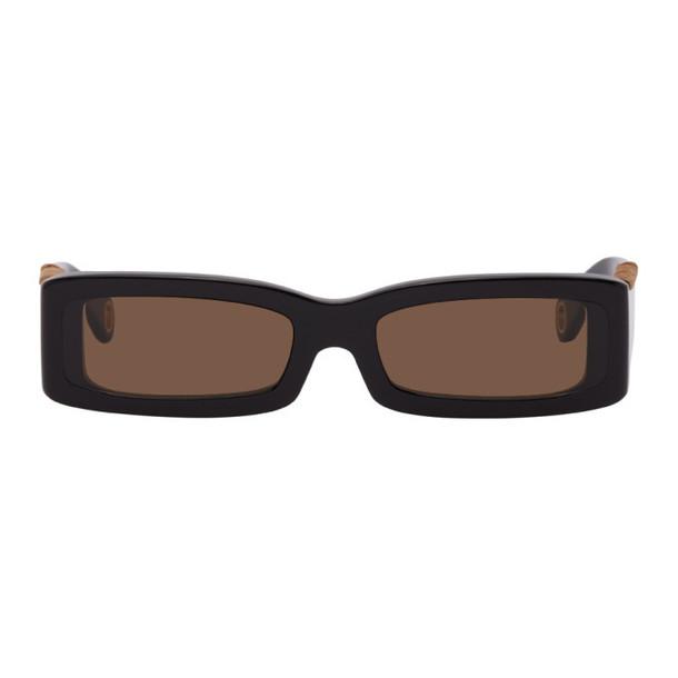 Jacquemus Black Les Lunettes 97 Sunglasses