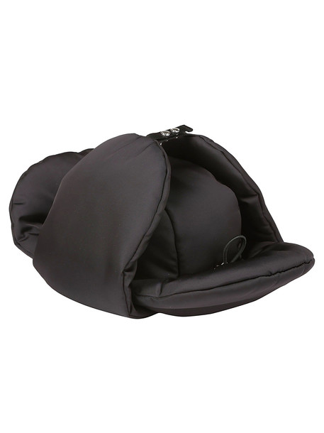 Prada Padded Hat in nero