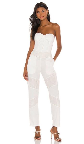 retrofete Noa Jumpsuit in white