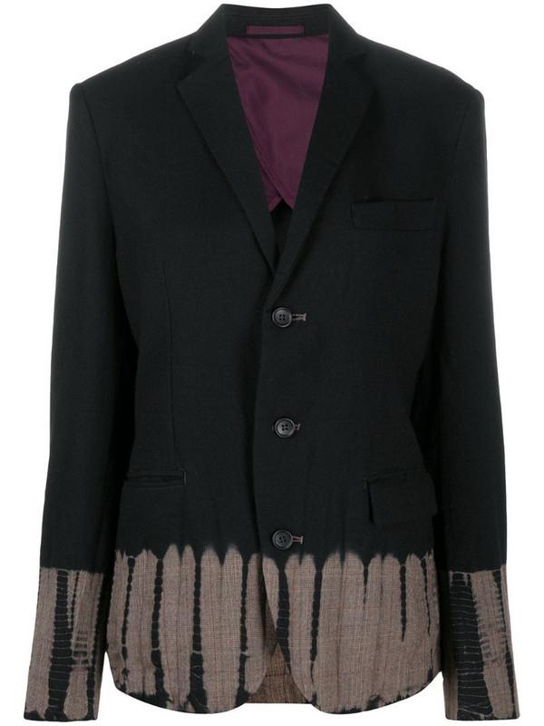 Suzusan tie-dye blazer in black