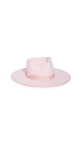 Lack Of Color Stardust Rancher Fedora in pink
