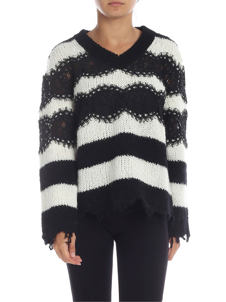 Philosophy di Lorenzo Serafini Philosophy - Sweater in black / white