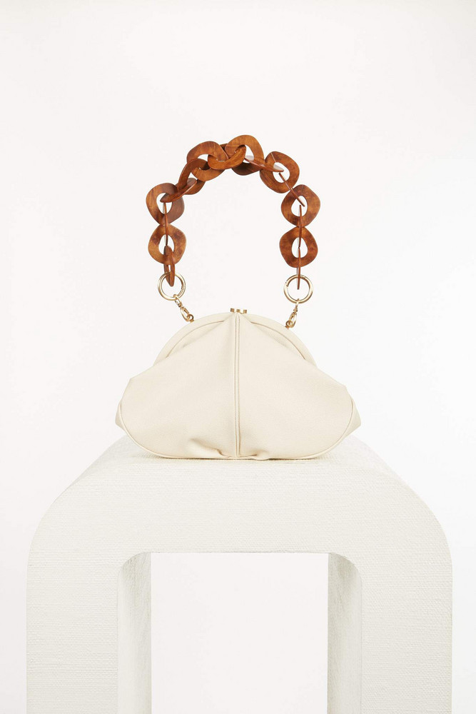 Cult Gaia Anna Shoulder Bag - Off White (PREORDER)                                                                                               $458.00