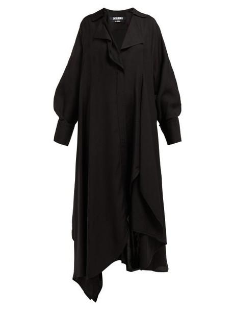 Jacquemus - Rosaria Twill Dress - Womens - Black