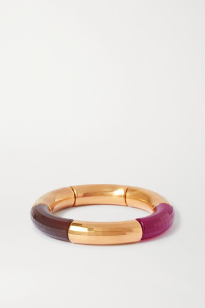 Kyoto Tango - Female Emancipation Gold-plated And Resin Bangle