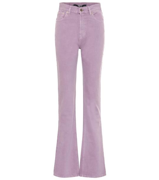 Jacquemus Le de Nîmes slim jeans in purple