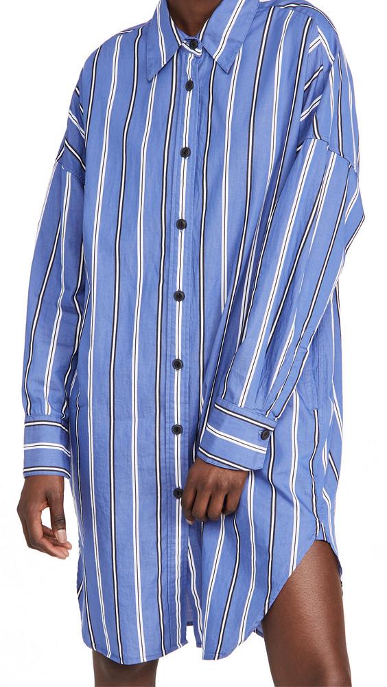 Rag & Bone Sandra Striped Dress in blue
