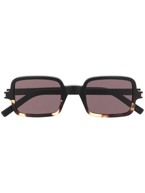 Saint Laurent Eyewear square frame sunglasses in black