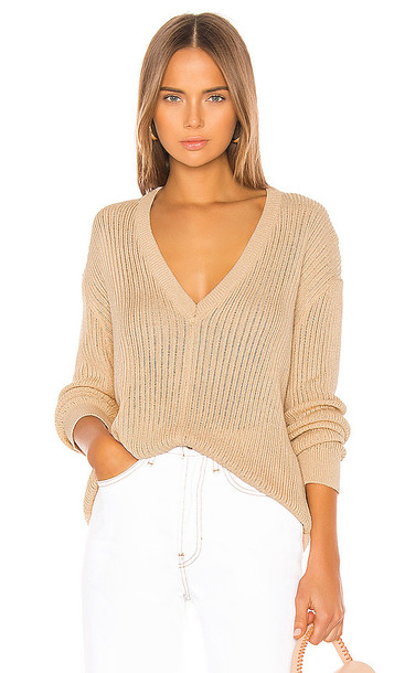 Song of Style Valentina Sweater in Cream