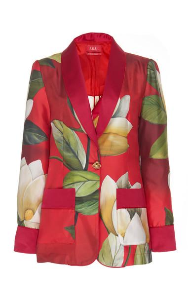 For Restless Sleepers Kakia Silk Blazer Size: S