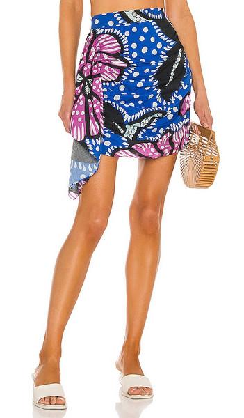 Rhode Hannah Skirt in Blue in purple