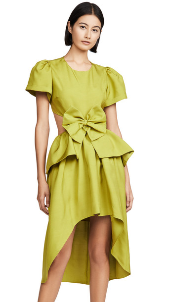 Viva Aviva Bonanza Open Back Dress in green