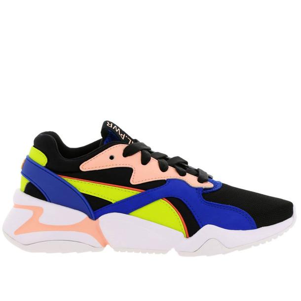 Puma Sneakers Shoes Women Puma in black