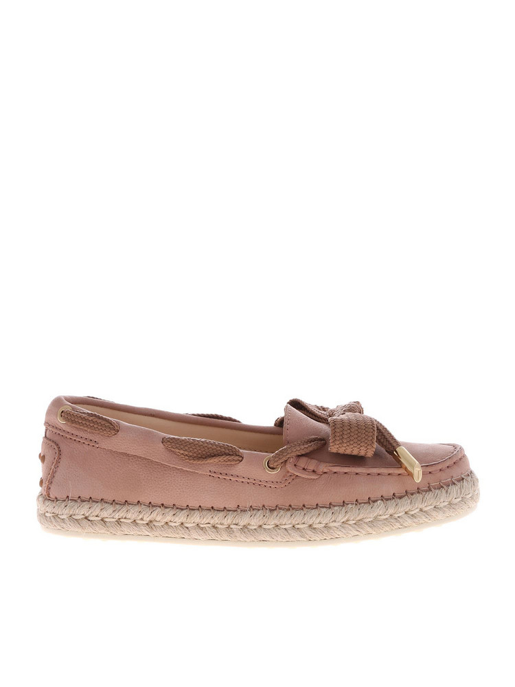 Tod's Moccasin Loafers in pink