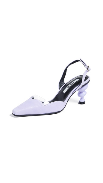 Yuul Yie Lissom D'orsay Heels in violet