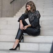 ms treinta,blogger,sweater,pants,belt