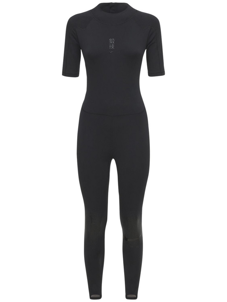 NIKE Mmw Fitted Jumpsuit in black