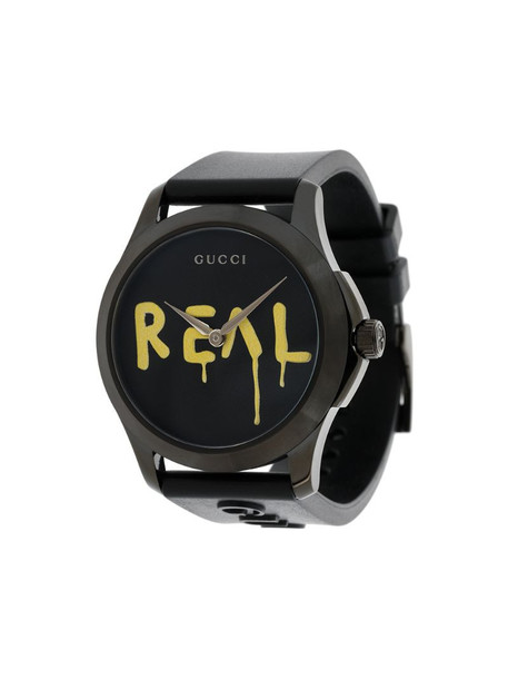 Gucci GucciGhost G-Timeless watch in black