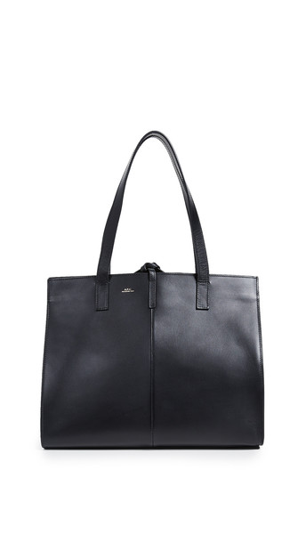 A.P.C. A.P.C. Emy Large Tote in noir