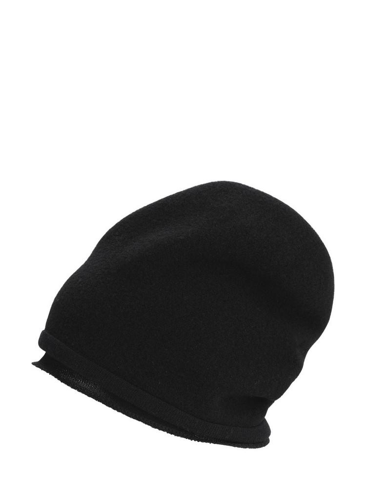SCHA Small Taiga Merino Wool Hat in black