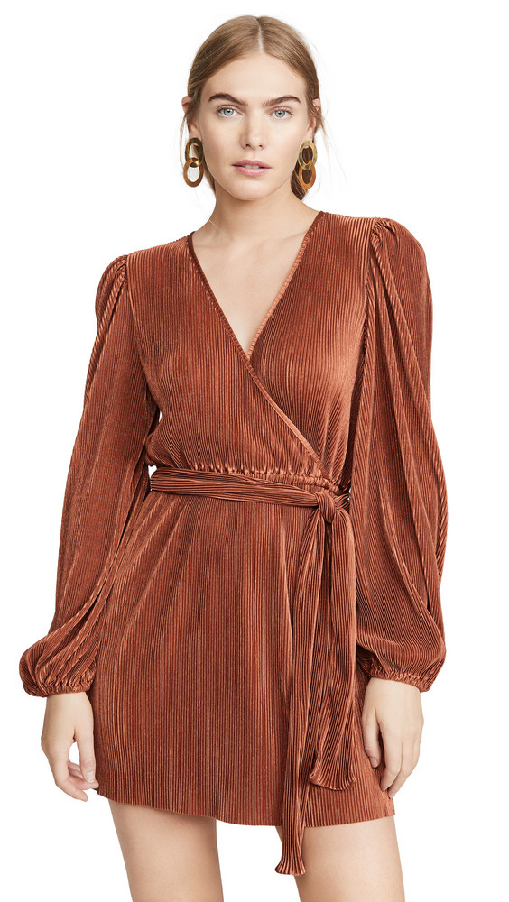 The Fifth Label Biography Dress in copper