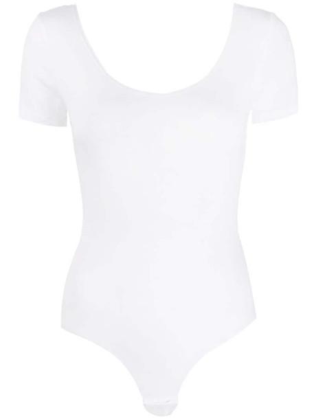 Diesel Uftk-Body-Sv short-sleeve body in white