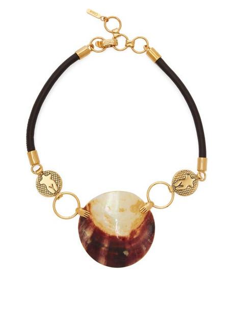 Chloé Chloé - Femininities Shell Necklace - Womens - Gold