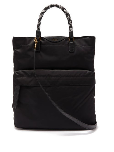 Anya Hindmarch - Bungee Cord Handle Tote Bag - Womens - Black