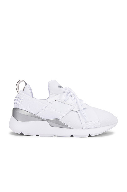 Puma Muse Perf Sneaker in white