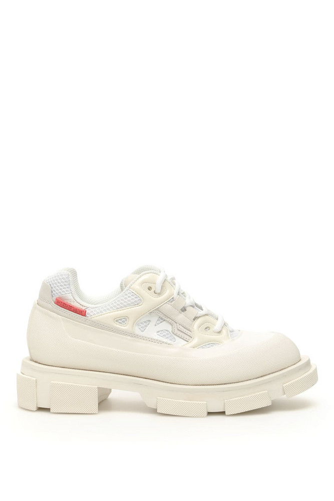 Both Gao Runner Sneakers in white